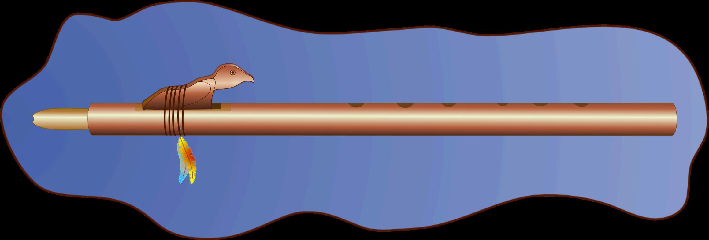 Big image png. Flute clipart native american flute