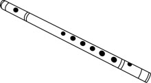 Search results for flute. Flutes clipart outline