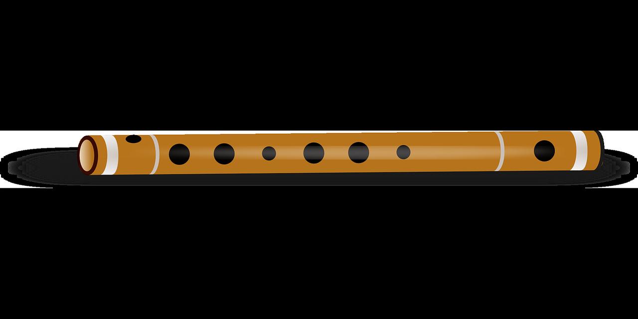 Instrument literature magic tune. Flutes clipart wooden flute
