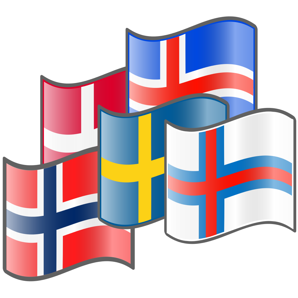 File nuvola nordic flags. Flute clipart svg