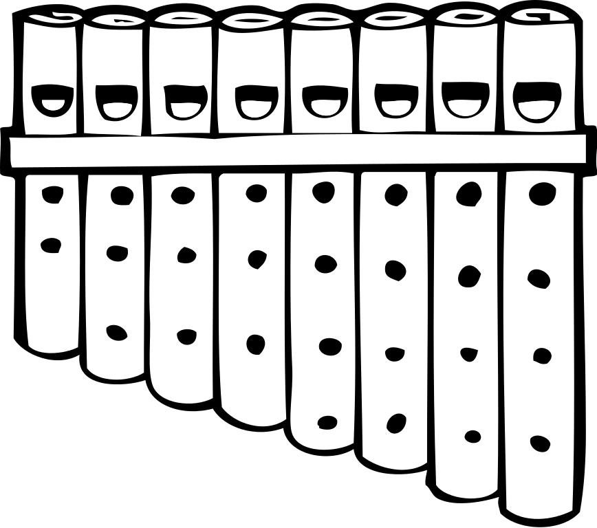 File pan wikimedia commons. Flute clipart svg