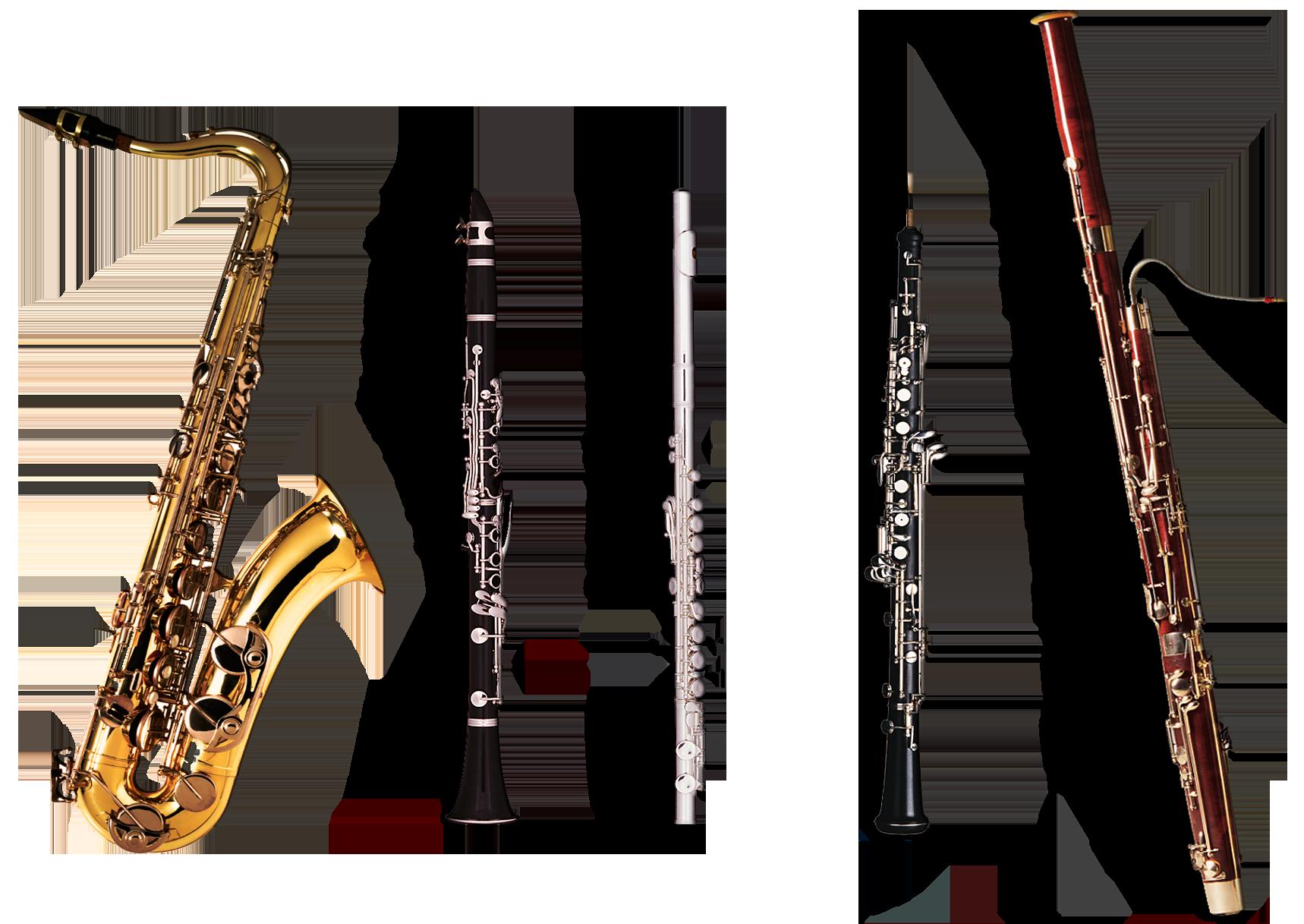 Flutes clipart oboe. Clarinet transparent png pictures