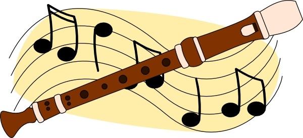 Flute music clip art. Flutes clipart vector