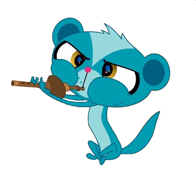 Lps sunil playing flute. Flutes clipart vector