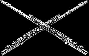 Clip art at clker. Flutes clipart