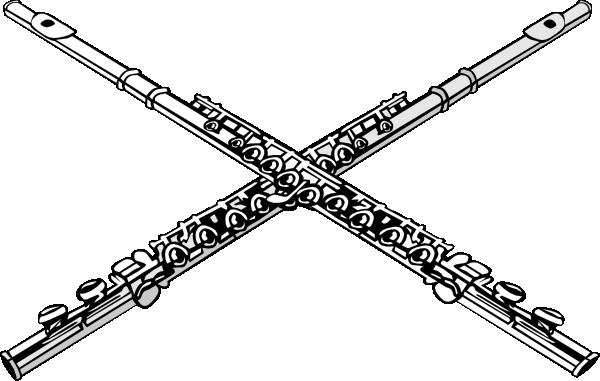 Flutes clipart line art. Flute clip stuff