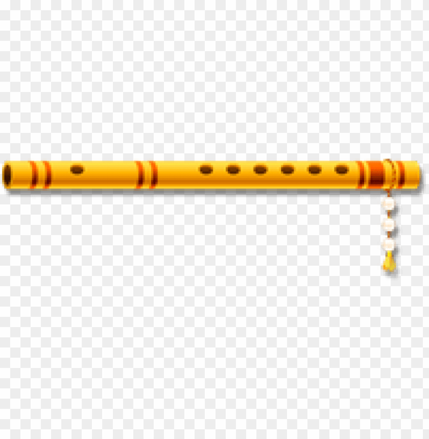 Flute png image with. Flutes clipart lord krishna