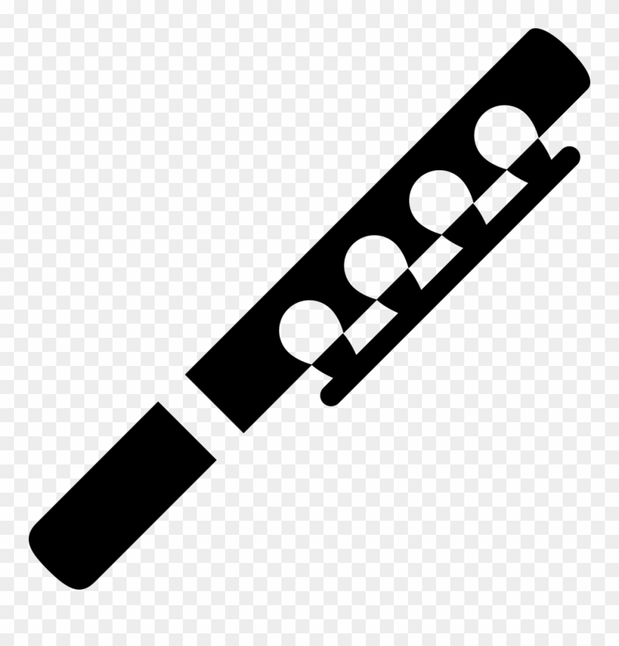 Flutes clipart svg. Flute clarinet icon png