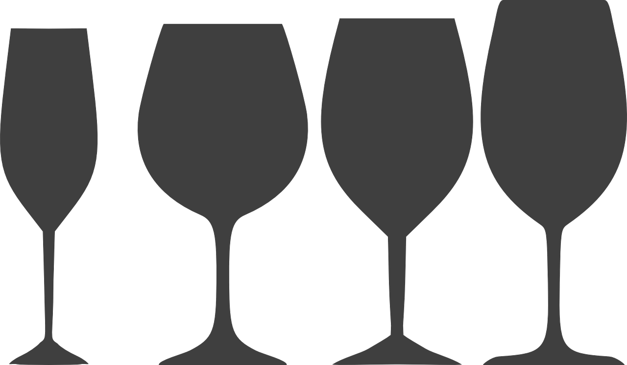 Glass clipart vector. Serving and storing food