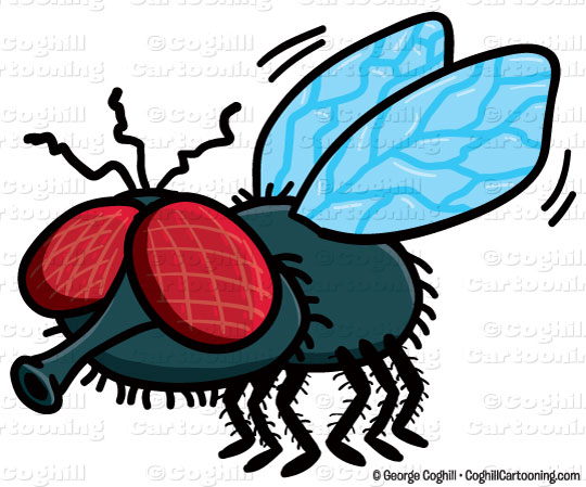 Fly clipart. Cartoon clip art stock