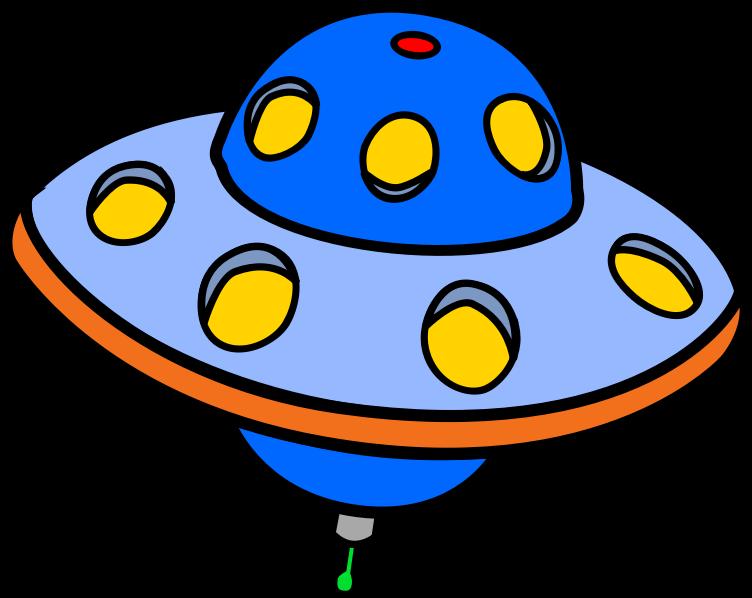 ufo clipart colorful