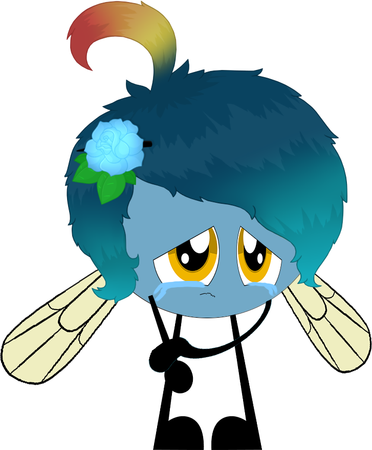 Sad boi by coulden. Fly clipart kawaii