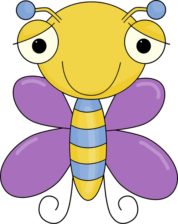 Insect clipart my cute graphic.  u clip art