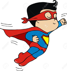 Superman free images at. Flying clipart