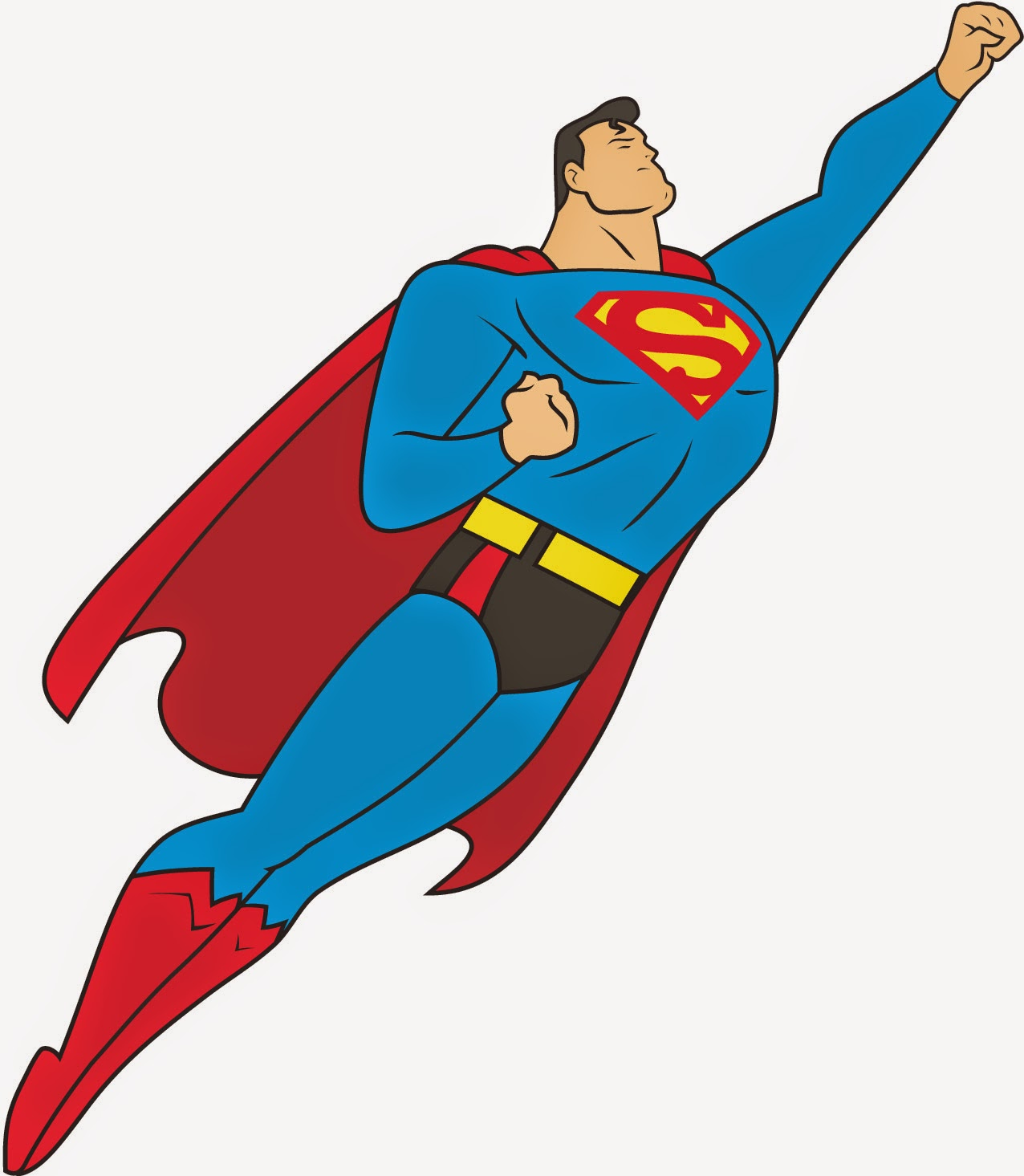 Superman cape panda free. Flying clipart