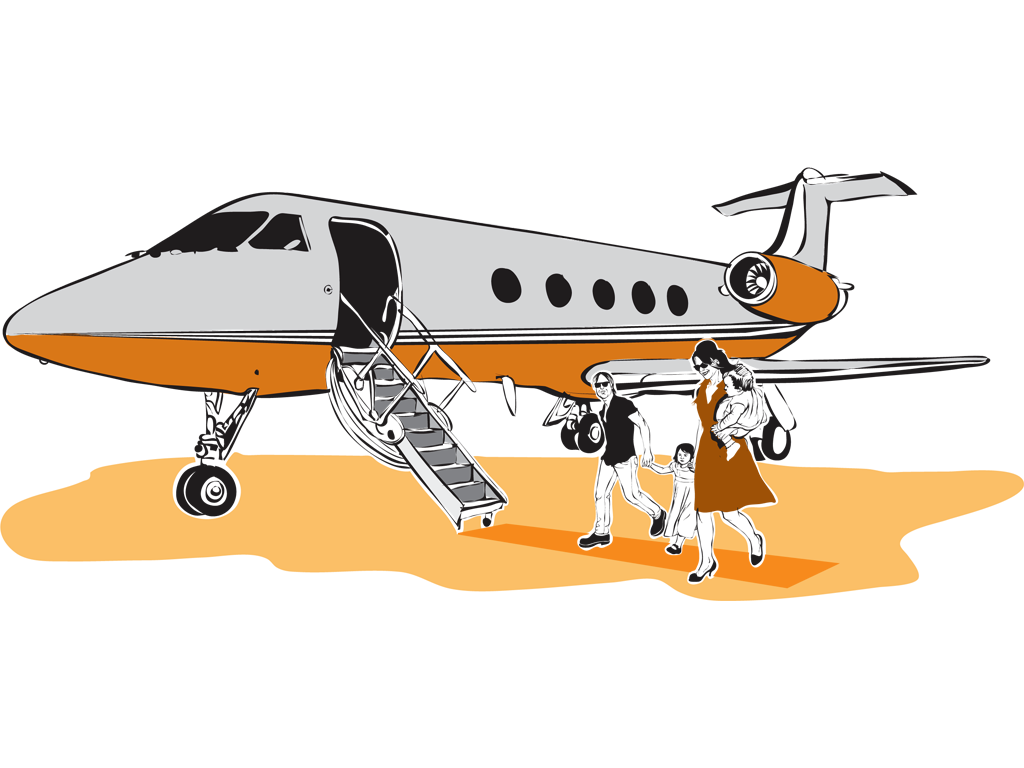 A jet of one. Flying clipart aerospace