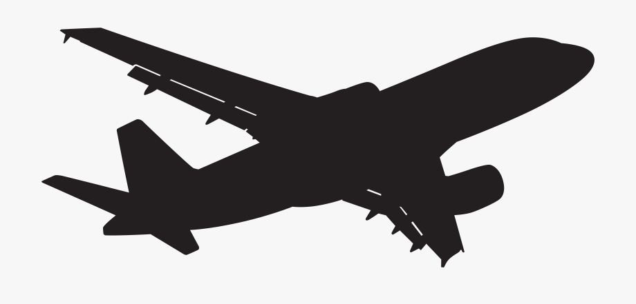Plane clipart flight. Of airplane top and