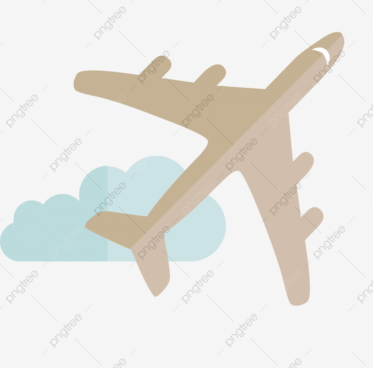 Creative cartoon aircraft . Flying clipart aviation