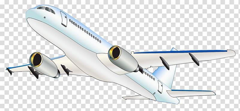 White plane illustration airplane. Flying clipart aviation