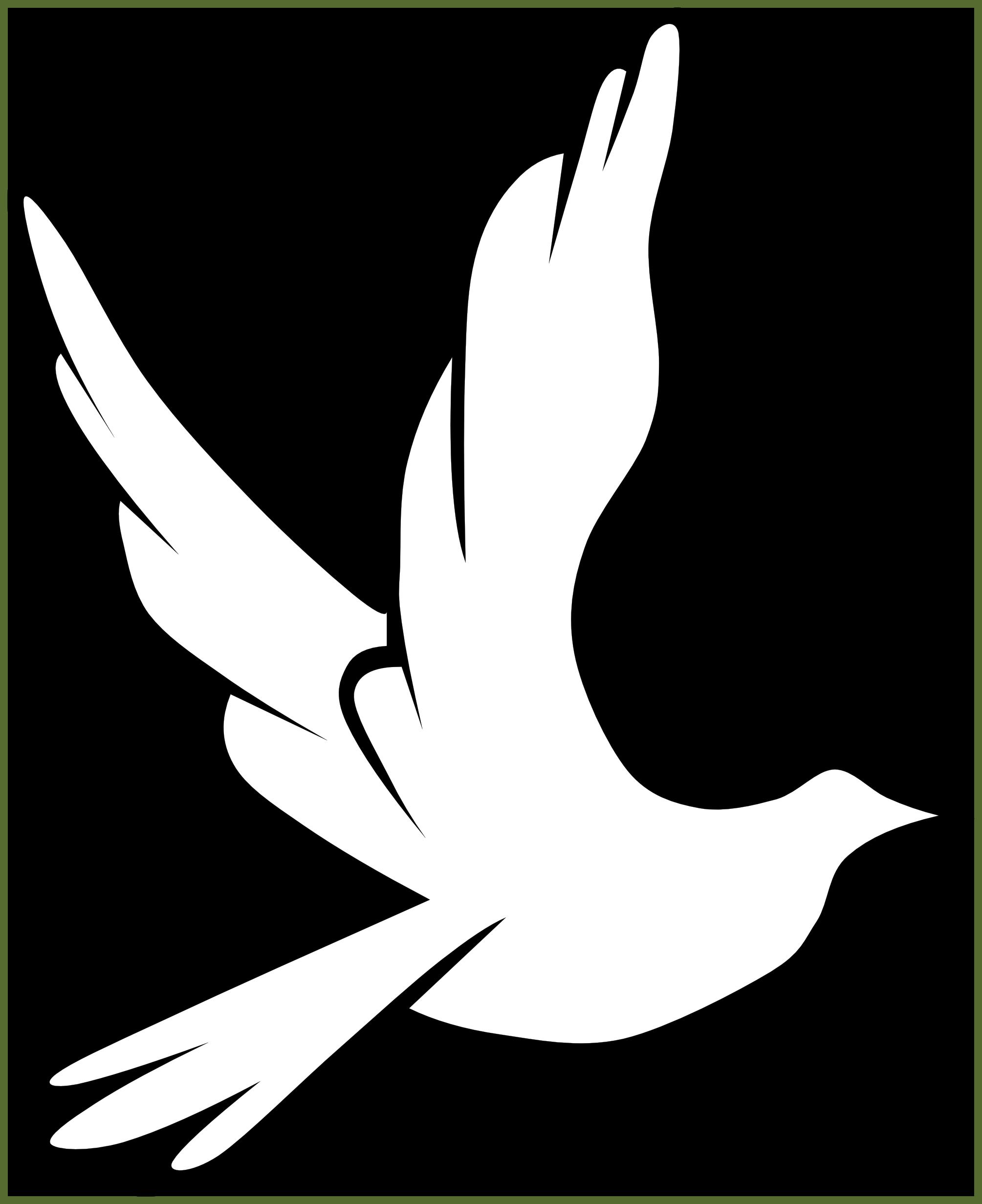 Clip art pigeon black. Lds clipart peace