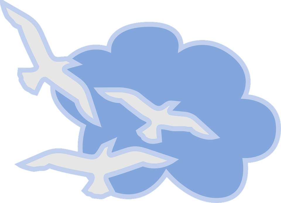 Cloud free on dumielauxepices. Flying clipart cartoon