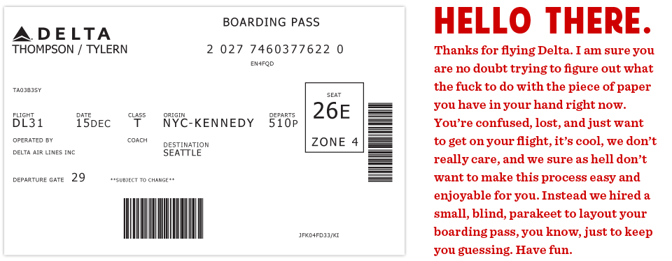 Redesigning the boarding pass. Ticket clipart plane ticket