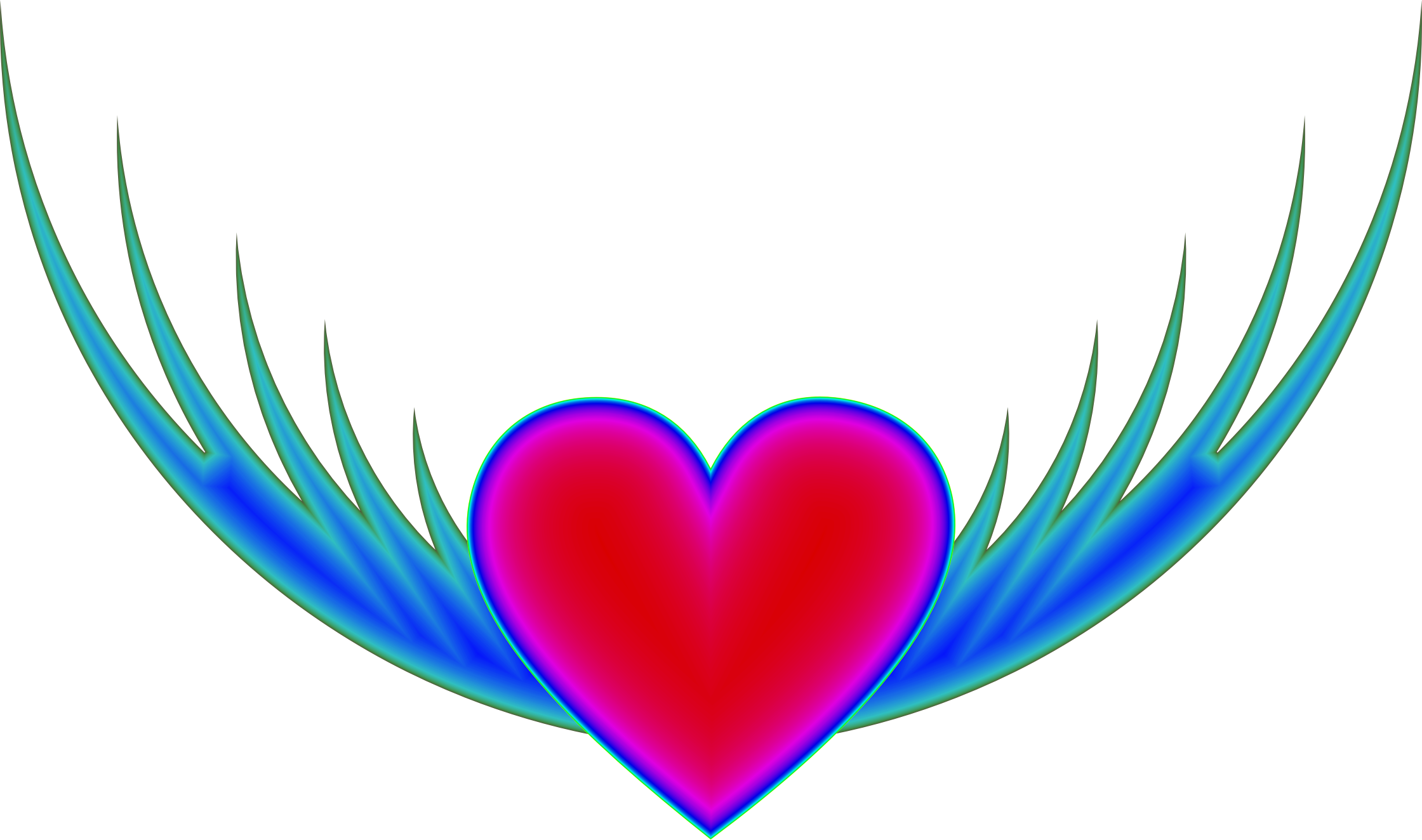 Heart icons png free. Flying clipart love