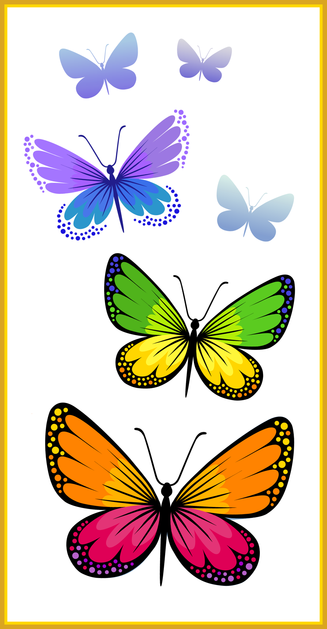 Flying clipart love. Fascinating butterflies composition png