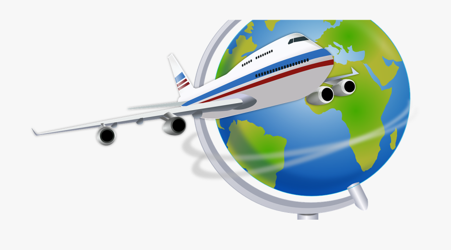 Flying clipart travel. Airplane clip art cliparts