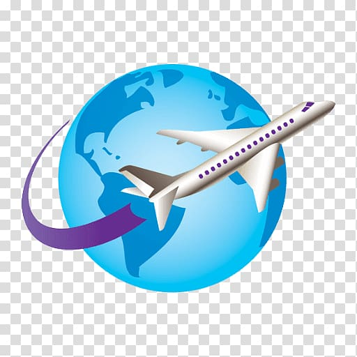 Flight air travel package. Flying clipart vaction