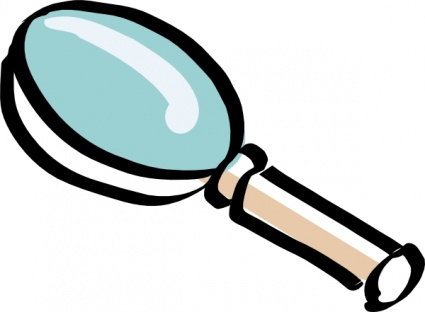 Focus clipart. Magnifying glass
