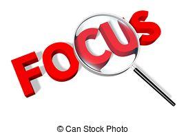 Focus clipart. Clip art d text