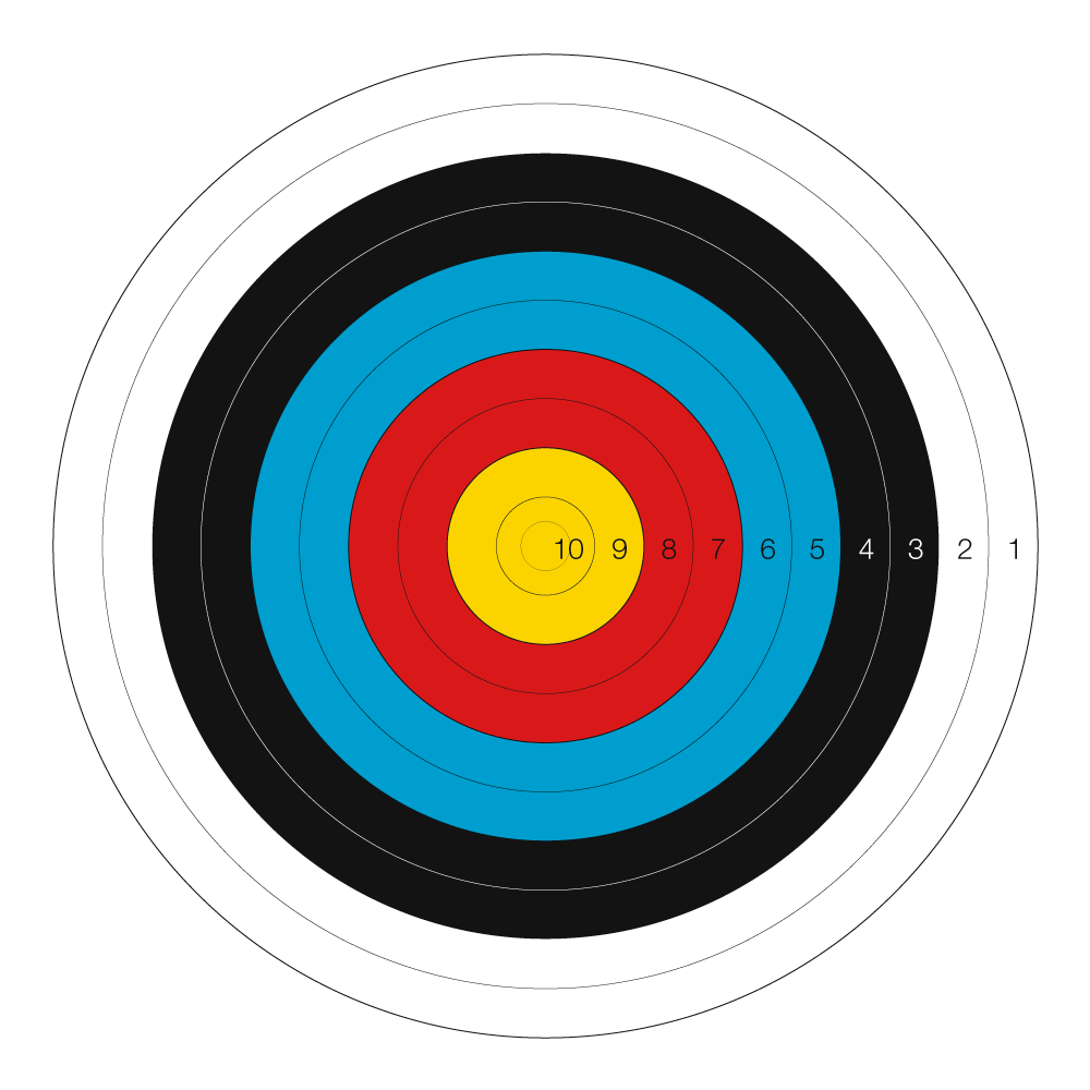 Shot clipart shooting target. Archery pinterest and is
