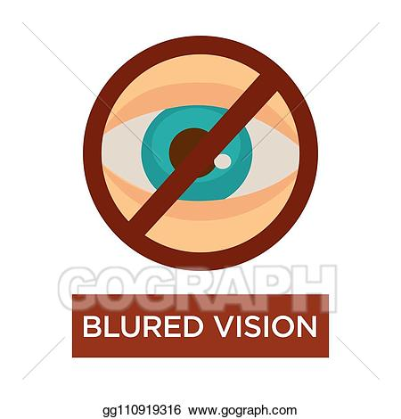 Clip art vector blurred. Vision clipart blurry vision