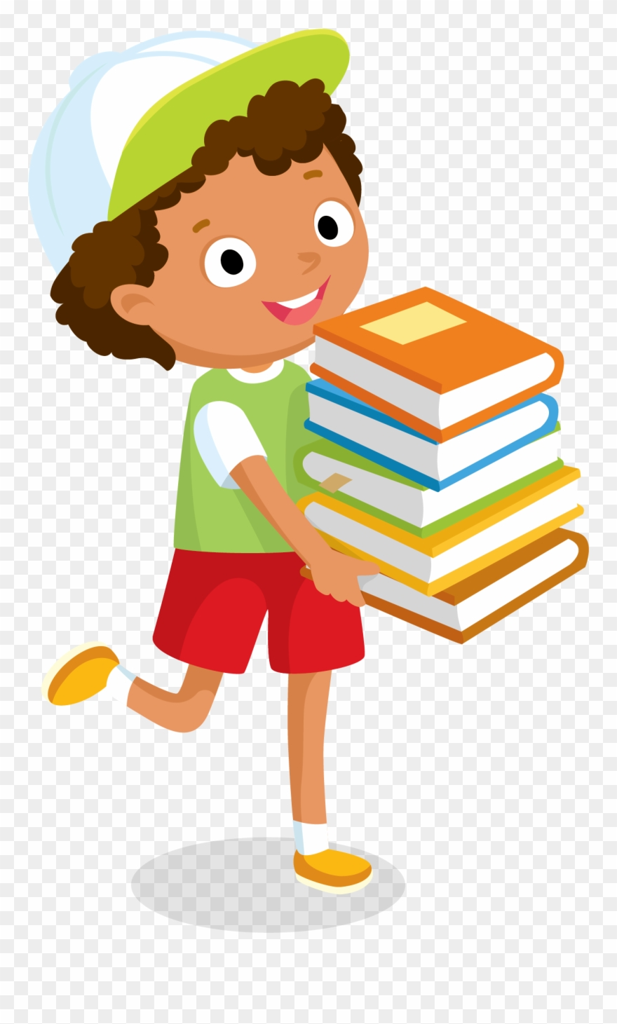 Write library png download. Focus clipart girl writer