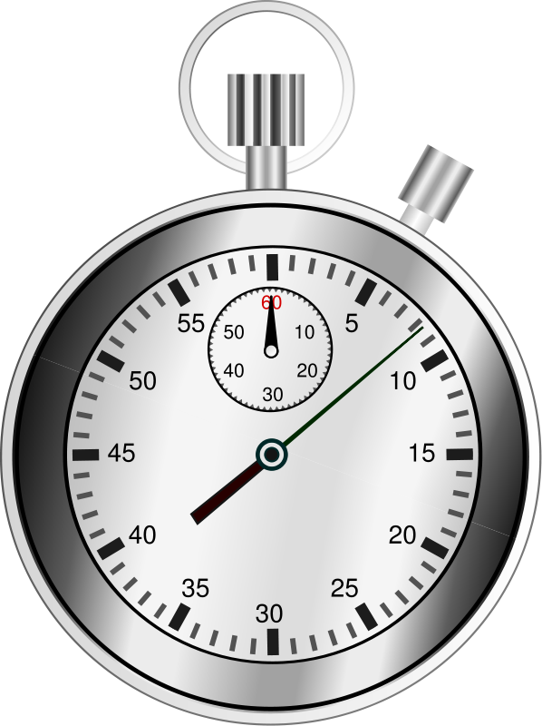 Stop watch sports theme. Weight clipart rapid