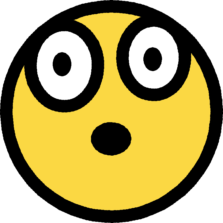 Free surprised face cartoon. Focus clipart stunned