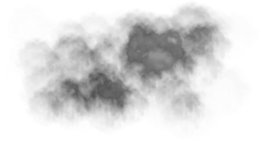 Mist png transparent images. Fog clipart black and white