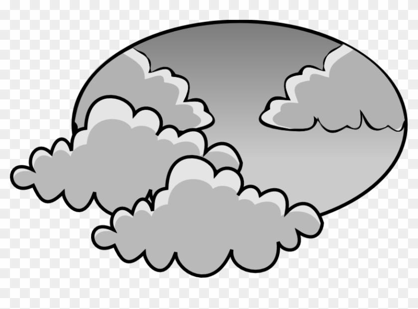 Gloomy weather clip art. Fog clipart cloudy