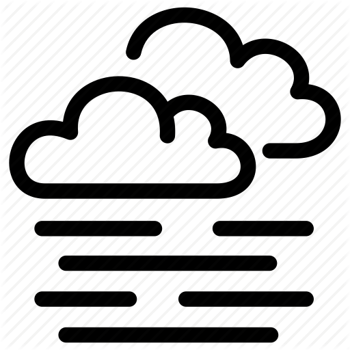 weather by hugo. Fog clipart cold cloud