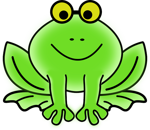 Growth frog pictures for. Fog clipart kid