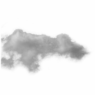 Clip art black and. Fog clipart transparent background cloud