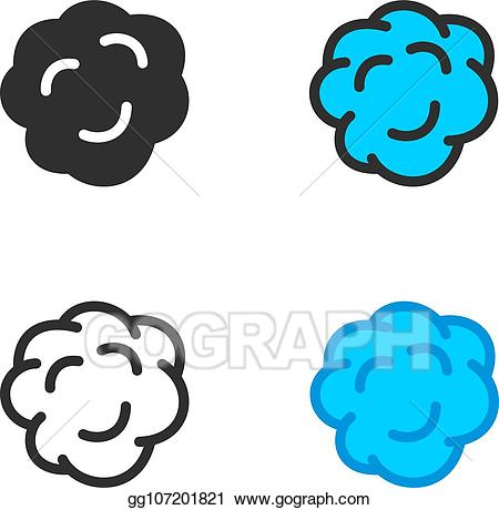 Eps smoke clouds stock. Fog clipart vector
