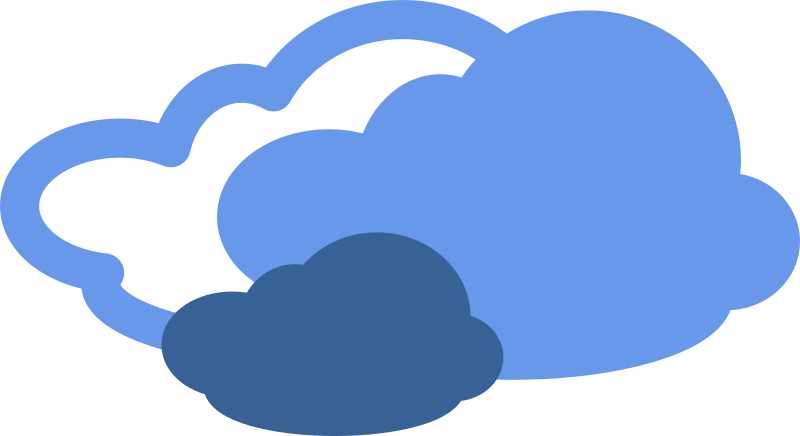 Simple weather symbols medium. Fog clipart windy symbol