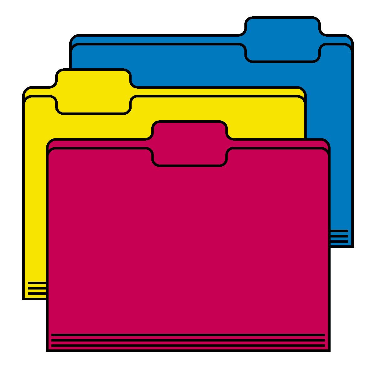 Folder clipart.  folders