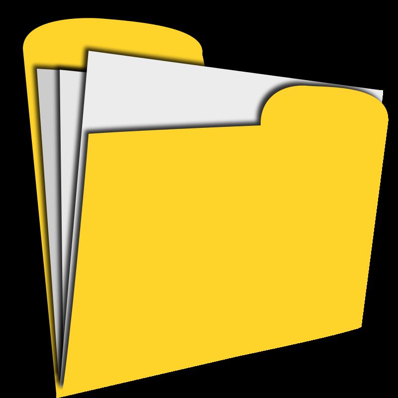 Folder clipart. Sub