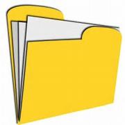 Folder clipart absent. Work
