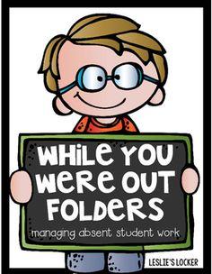 best student images. Folder clipart absent work