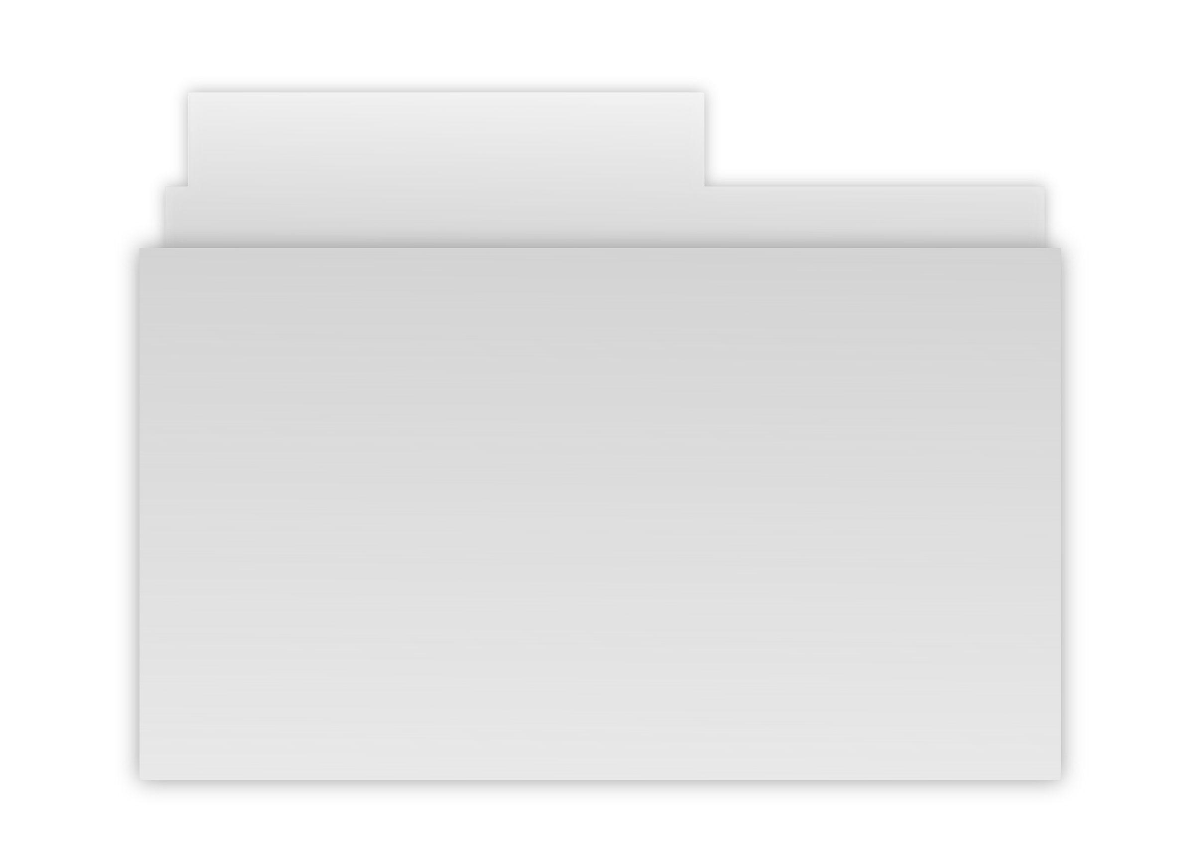 Gray icons png free. Folder clipart bin