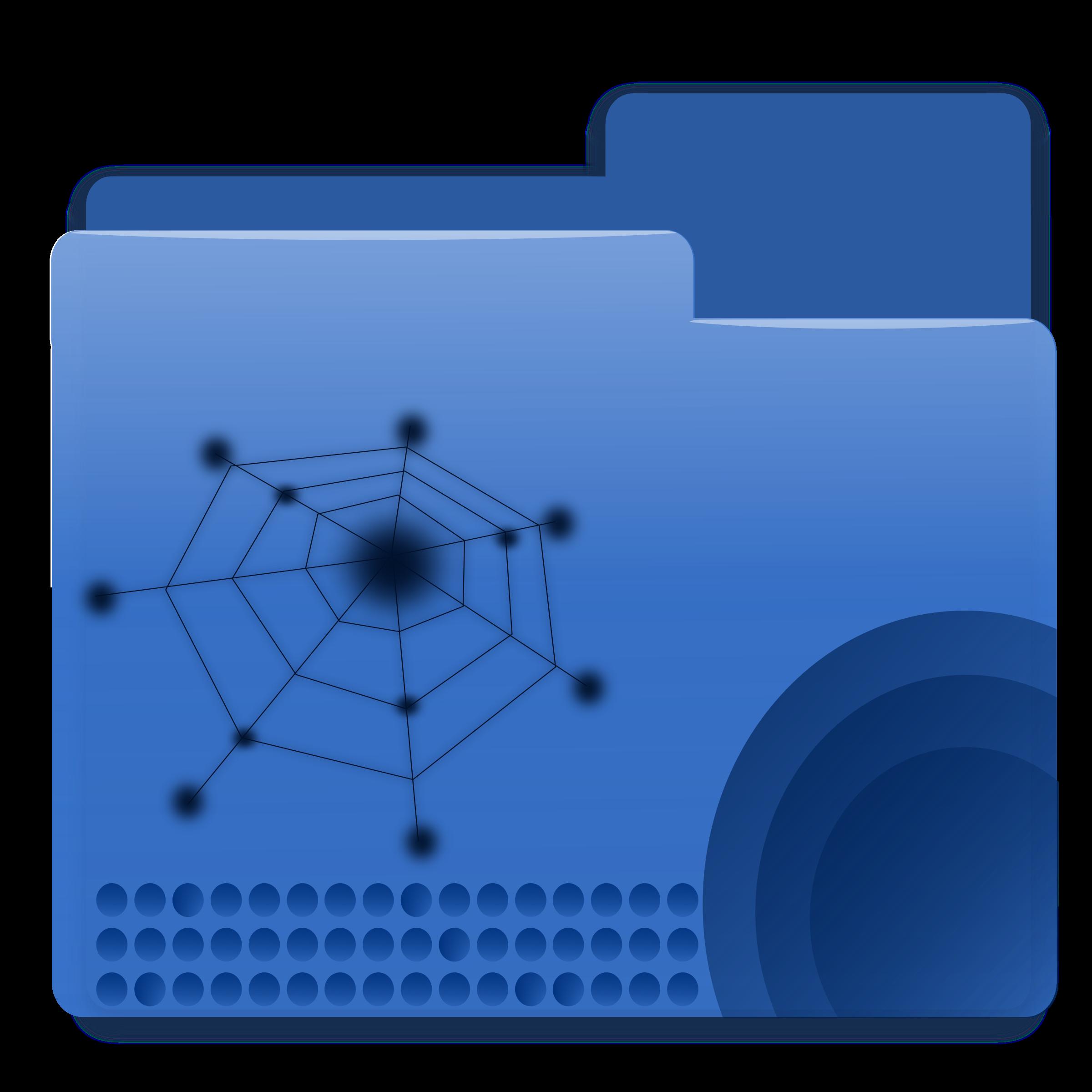 Big image png. Folder clipart blue folder